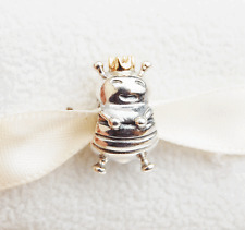 "Gen. Pandora two-tone Charm ""Bee Queen"" - 790227 - retired"