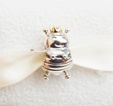 """Gen. Pandora two-tone Charm """"Bee Queen"""" - 790227 - retired"""