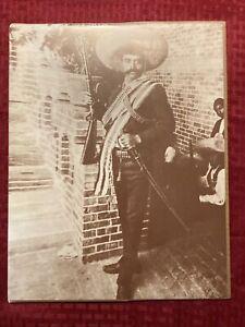 Emiliano Zapata 11x14 Photo Old West Collectors Series