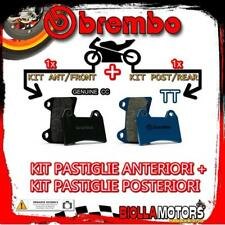 BRPADS-3011 KIT PASTIGLIE FRENO BREMBO HONDA CB 1997- 500CC [GENUINE+TT] ANT + P