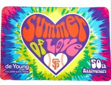 PRESALE San Francisco Giants 50th Anniversary Summer of Love Blanket SGA 6/25/17