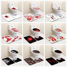 Halloween Gift Red Blood Bath Shower Mat Carpet Cushion Horrible Floor Area Rug