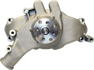 Engine Water Pump-Mechanical Long Style High Flow Model Satin BB Chevy PROFORM