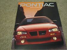 1993 Pontiac Dealer Sales-Showroom Brochure Bonneville, Grand Prix, Trans Am