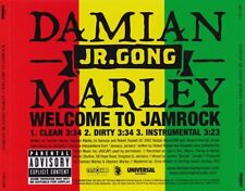 Damian Jr. Gong Marley: Welcome To Jamrock PROMO MUSIC AUDIO CD Clean Dirty Inst
