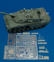 Royal Model 1:35  MBT Ariete (for Trumpeter kit) - PE Resin Detail Set #431