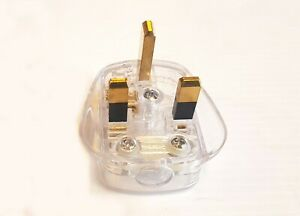 Audiophile 13 Amp Mains Plug Missing Link Cable Connector Pack of 5
