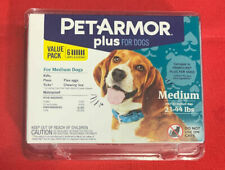 PetArmor Plus for Dogs Medium M 23-44 lbs. Kills Fleas Ticks Lice 6-Pack