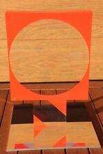 SUGAI Kumi Sculpture sérigraphie plexiglass signée numérotée Kōbe Japon 1972 *