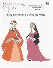 Schnittmuster RH 601: Early Tudor Lady's Gown & Kirtle