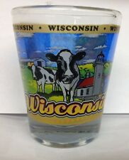 WISCONSIN STATE SHOT GLASS NEW SHOT GLASS NEW