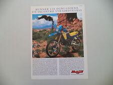 advertising Pubblicità 1987 MOTO MALAGUTI RUNNER 125 RALLY