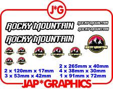 Rocky Mountain VTT BMX Downhill VTT Autocollant Decal livraison gratuite