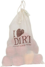 EcoBags Designs Printed Produce Bag I Love Dirt Reusable Produce Bag