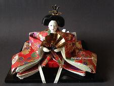 """6""""H Beautiful Handmade Collectible Japanese Princess Royal Kimono Display Doll"""
