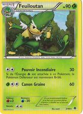 Feuiloutan -Noir&Blanc:Pouvoirs Emergents-2/98-Carte Pokemon Neuv France