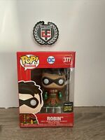 Funko Pop DC Imperial Palace Metallic China Exclusive Robin #377 Vinyl Figure