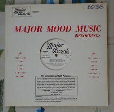 Major Library Music LP #6036 Cyril Waters Dominic Savino M-