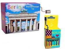 Mini Drehorgel Berliner Luft mit Brandenburger Tor Spieluhren Spieluhr Berlin