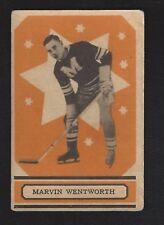 1933 OPC V304B #61 Marvin Wentworth, Vintage Montreal Maroons NHL Hockey 1933-34