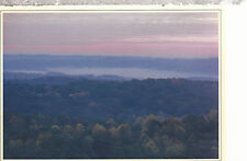 Sunrise over Wooded Hills    Indiana      Chrome  Postcard 267