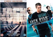 JACK RYAN Complete Movie Collection Set All 5 Films Brand New Sealed Original