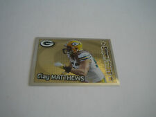 2012 Panini Football Clay Matthews Foil Sticker #325***Green Bay Packers***