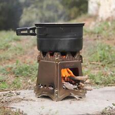 LIXADA Outdoor Camping Cooking Picnic Compact Folding Wood Stove C4J8