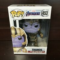 "Funko Pop Marvel Avengers Endgame : THANOS #453 Vinyl Figure ""MINT"" -IN STOCK-"