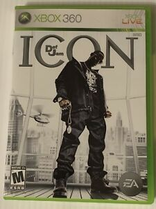 Def Jam: Icon (Microsoft Xbox 360, 2007) - Game Disc & Case - Tested