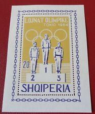 Albania 1964 Olympic Games Tokyo MS UM