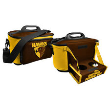 Hawthorn Hawks  AFL Lunch Cooler Bag With Drink Tray Table Insulated Work Picnic