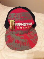MONSTER ENERGY BASE BALL HAT SIZE 7 1/4
