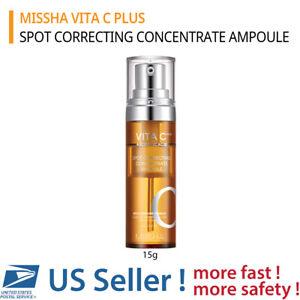MISSHA VITA C PLUS SPOT CORRECTING CONCENTRATE AMPOULE (15g) - US SELLER -