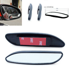 2 Pcs Universal Car Side Wide Angle Rear View Auxiliary Blind Spot Convex Mirror