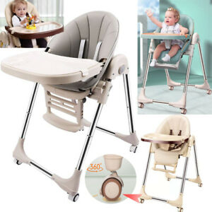 5 in 1 Folding Adjustable Baby Highchair High Chair Recline Feeding Seat Table
