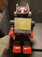 AMAZING VINTAGE Space TOY SATURN GIANT SCREEN ROBOT BATTERY OPERATED FROM 70s