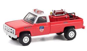 GREENLIGHT #30240 - FDNY FIRE DEPT OF NEW YORK 1986 CHEVY M1008 4x4 [PREORDER]