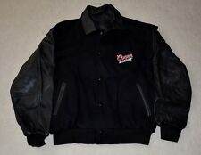9a49a1a464da2 Coors Light Leather Wool Embroidered Varsity Jacket by Imageseller Size L   NEW