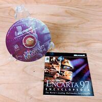 Encarta Encyclopedia 97 PC CD-ROM Software for Windows 95 Microsoft