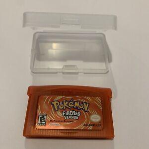 Pokemon Gameboy Advance Fire Red Version