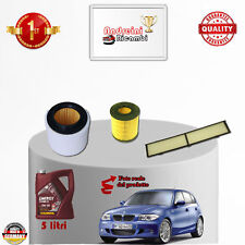 Replacement Filter Kit+Oil BMW Serie 1 120i 125KW 170CV from 2010 -> 2012