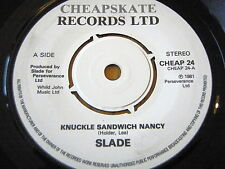 """SLADE - KNUCKLE SANDWICH NANCY    7"""" VINYL"""