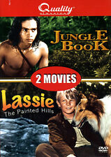 Jungle Book / Lassie: The Painted Hills (DVD) **New**