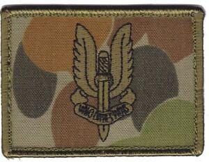 Army Australian SASR Insignia Green DPCU hook backing