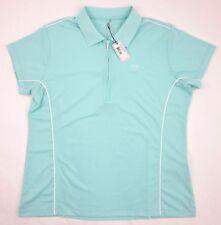 NEW! Women's Peter Millar ¼ Zip Polo Shirt Pastel Stream Green Sz XL $74.00