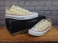 CONVERSE LADIES UK 3.5 EU 36 CREAM ALL STAR OX TRAINERS RRP £55
