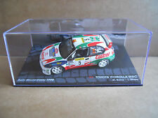 Rally Model Car IXO 1:43 TOYOTA COROLLA WRC Montecarlo 1998 C. Sainz [MZ12]