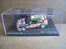 Rally Model Car IXO 1:43 TOYOTA COROLLA WRC Montecarlo 1998 C. Sainz [MZ12]