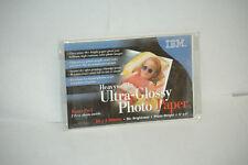 "BM Heavyweight Ultra-Glossy Photo Paper *27 Sheets* 4""x6"" 96+ Brightness 90H3783"